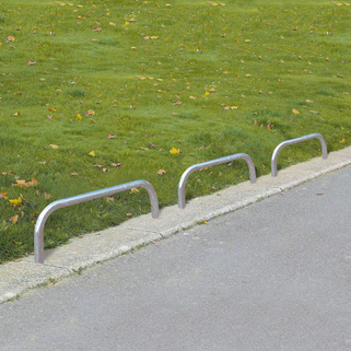 Hooped Barrier Low Level - Knee Rail For Perimeters or Parking Barrier, Hugely popular