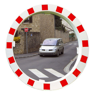Traffic Mirrors - Anti Scratch, Virtually Unbreakable VIALUX® -