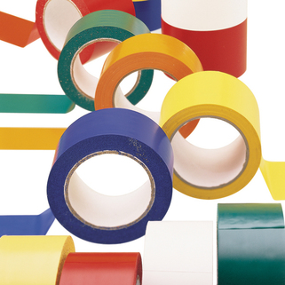 Floor Marking Tape (Plain) - Extra Robust for internal surfaces