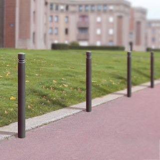 Bollard Steel - 5 Year Warranty ideal for both Urbane and residential use.