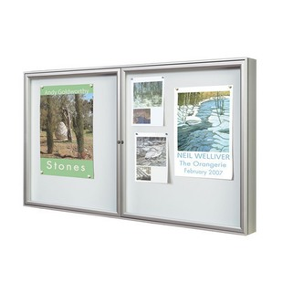 Notice Boards Aluminium Painted - Single Sided - high quality, strong and versatile.