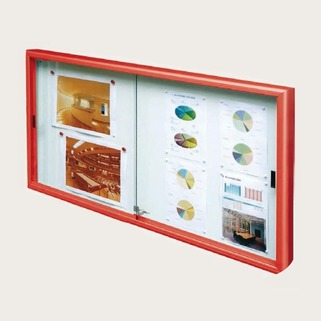 Notice Boards - Indoor Use Classic Sliding Door