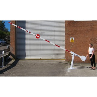 Manual barrier arm lifted1 listing