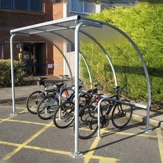 Bike Shelter - Includes Cycle Stands. Easy to install