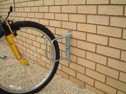 Wall Mounted V Shape Bike Holder - 1 Bike
