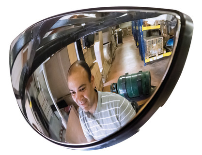 Fork Lift Mirrors - aid by reducing the amount of blind spots - Best Seller