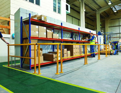 Guard Rails- Ideal for warehouse or industrial environment.