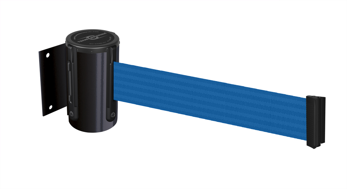 Tensabarrier® Heavy Duty Wall Mounted - 2.3m & 3.65m tape - Standard Fixing - Wall clip provided image