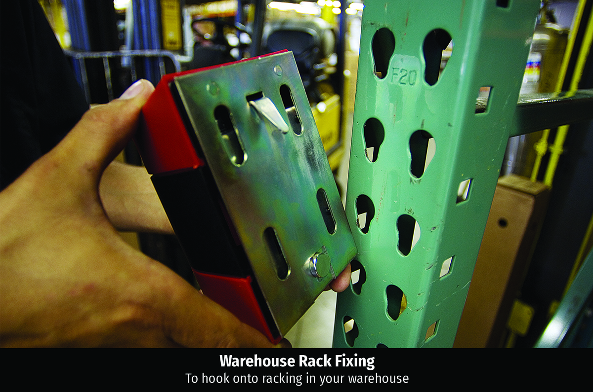 Warehouse rack fixing for wall mount  1