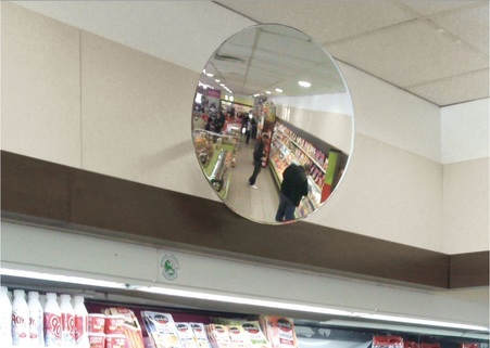 Indoor Security Mirrors - Ideal for shops, hospital, reception area - VIALUX