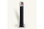 Rhino rt rd4 round steel powder coated black telescopic security bollard 1 ma