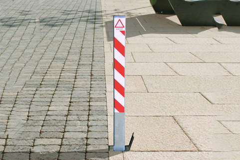Parking Post Removable - ideal for where you can't dig deep enough for a telescopic post.