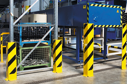 Pallet Racking Protectors -Heavy Duty Superior Build