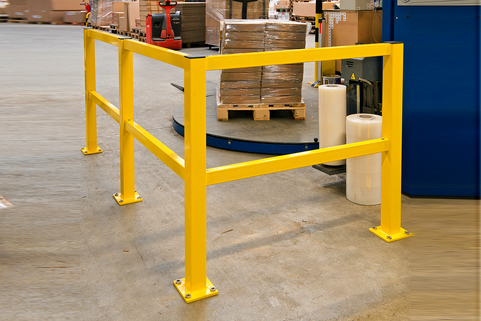 Guard railing system  for indoor/outdoor impact Protection- Medium Duty-Very easy installation