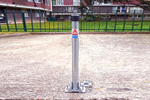Parking Post - Folding Sturdy Toplock Great For Car Park Baysand or those wanting a higher parking post
