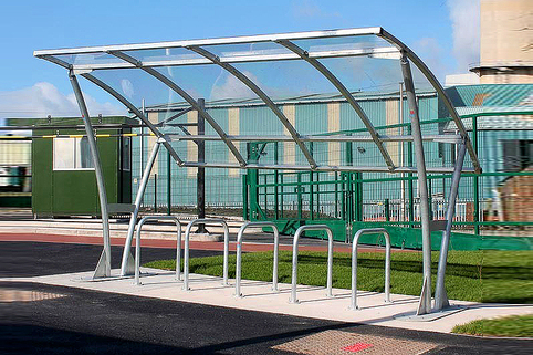 Bike Shelter Bowland  - exceptionally strong
