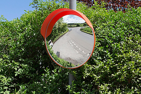 External polycarbonate mirrors 3 2