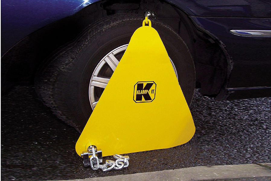 Wheel Clamp Home Office Type Approved - used by professionals image