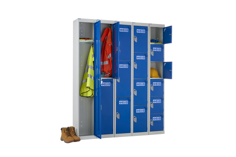 Lockers for PPE  - Secure storage for PPE items & wear