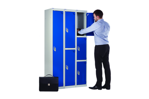 Lockers Secure with 3-Point locking mechanism for extra security (Minimum order qty 8)