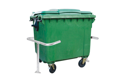 Wheelie Bin enclosure - Bin is eliminated as a potential road hazard - PROCITY®