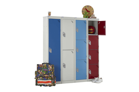 School Lockers, Ideal for Primary Schools