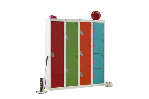 School Lockers-Bright & Bold - Spectrum